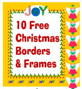 Christmas clip art borders at clipartandcrafts.com