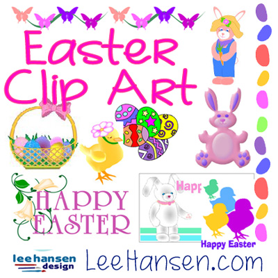 easter clip art and borders