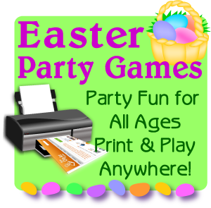 Easter party print games now
