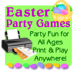 Easter games print now, click for details or to shop