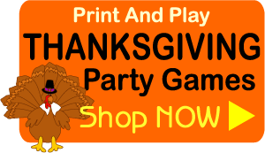 Printable Thanksgiving and harvest party games