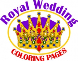 royal wedding coloring pages