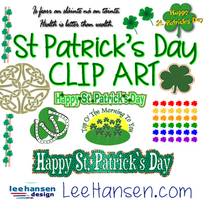 St. Patrick's Day Clip Art and Borders