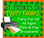 Print games now St. Patrick's Day party fun