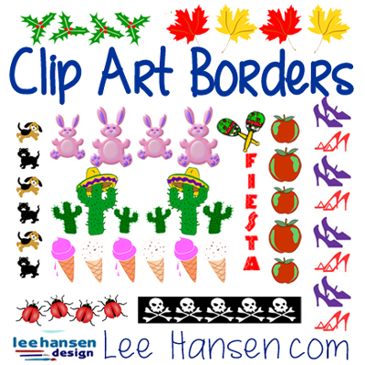 Clip Art Borders, Frames, and Divider Graphics