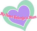mum heart clip art