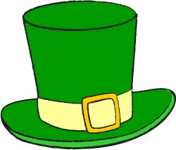 Green Leprechaun Hat Clip Art