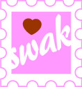 SWAK sealed with a kiss clip art