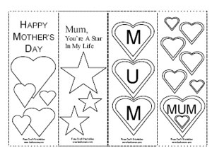 Mother S Day Printables And Paper Crafts