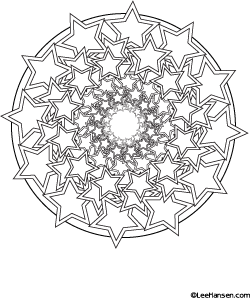 Top 20 Free Printable Star Coloring Pages Online | 298x250