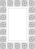 celtic knot frame border
