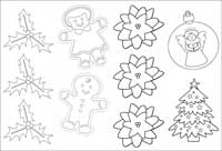 christmas coloring printable gift tags