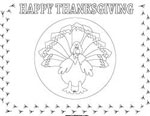 thanksgiving placemat coloring sheet
