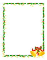 christmas bells stationery christmas candle stationery snowflakes ...
