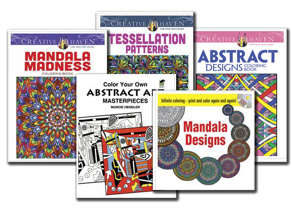 Dover Coloring Books For Adults And Teens