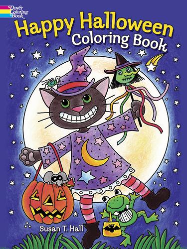 Halloween Designs Coloring Book
